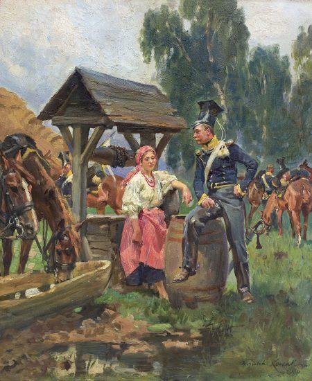 Wojciech Kossak - Aukcja sztuki dawnej 17 czerwca